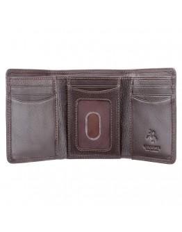Коричневый мужской кошелек Visconti HT18 Compton c RFID (Chocolate)