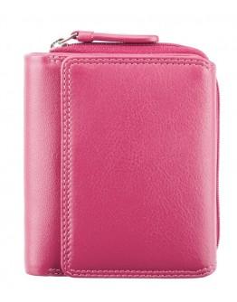 Розовый женский кошелек Visconti HT30 Kew c RFID (Fuchsia)