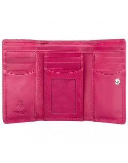 Розовый женский кошелек Visconti HT32 Picadilly c RFID (Fuchsia)