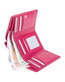 Фотография Розовый женский кошелек Visconti HT32 Picadilly c RFID (Fuchsia)