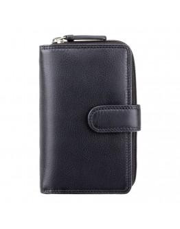 Женский черный кошелек Visconti HT33 Madame c RFID (Black)