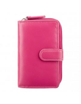 Женский розовый кошелек Visconti HT33 Madame c RFID (Fuchsia)