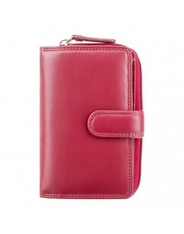 Женский красный кошелек Visconti HT33 Madame c RFID (Red)
