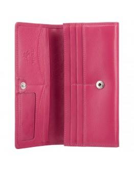 Розовое женское портмоне Visconti HT35 Buckingham c RFID (Fuchsia)