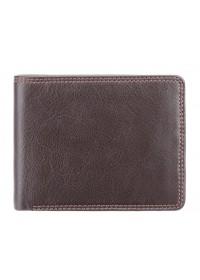 Коричневый кошелек Visconti HT7 Stamford c RFID (Chocolate)
