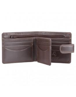 Коричневый кошелек мужской Visconti HT9 Sloan c RFID (Chocolate)