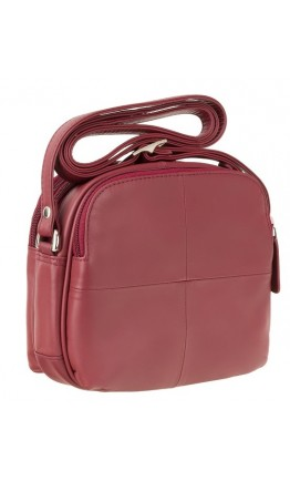 Красная женская небольшая сумка Visconti Holly 18939 (red)