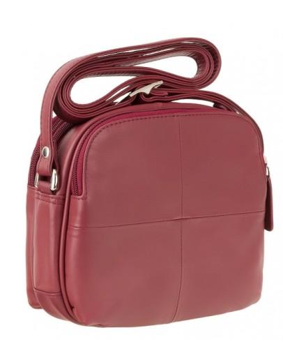 Фотография Красная женская небольшая сумка Visconti Holly 18939 (red)