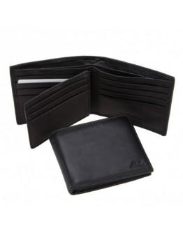 Мужской черный кошелек KP-00244W