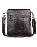 Фотография Тёмно коричневая мужская сумка планшетка L009