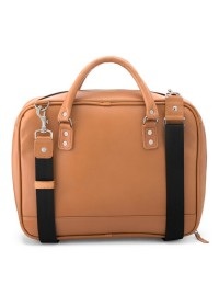 Портфель мужской кожаный коричневого цвета Limary LB601