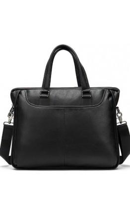 Черная сумка для небольшого ноутбука и документов M103A