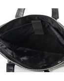 Фотография Черная деловая повседневная мужская сумка M1808-3A