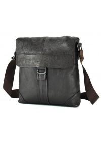 Коричневая мужская сумка на плечо M38-1712C