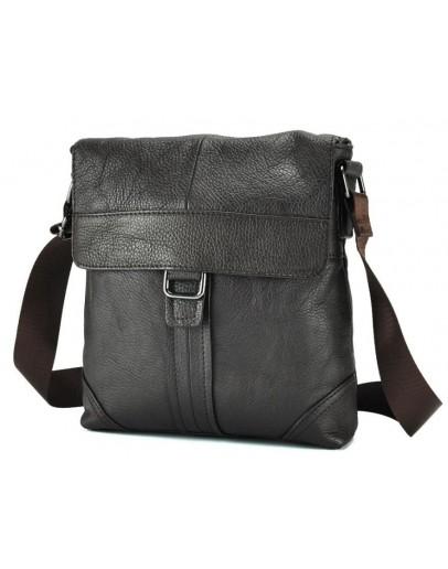 Фотография Коричневая мужская сумка на плечо M38-1712C