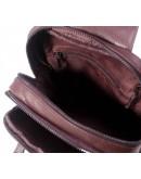 Фотография Коричневый мужской рюкзак, на одну шлейку M38-3313C