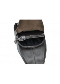 Коричневый мужской кожаный слинг M38-3616DB