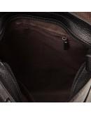 Фотография Черный мессенджер мужской из натуральной кожи M38-3821A