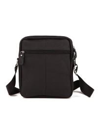 Черная небольшая мужская сумочка на плечо M38-3922A