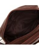 Фотография Коричневая небольшая мужская сумочка на плечо M38-3922C