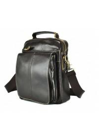 Коричневая мужская сумка на плечо M38-5026C