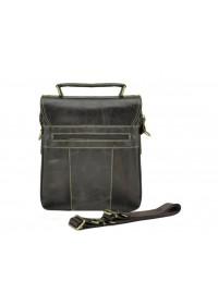 Коричневая вместительная мужская кожаная сумка M38-5031DB