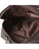 Фотография Сумка - борсетка коричневого цвета кожаная M38-5112C