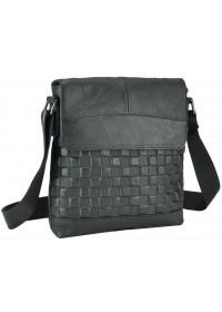 Черная мужская сумка через плечо M38-6612A