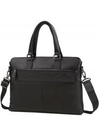 Деловая мужская черная городская сумка M38-6901-3A