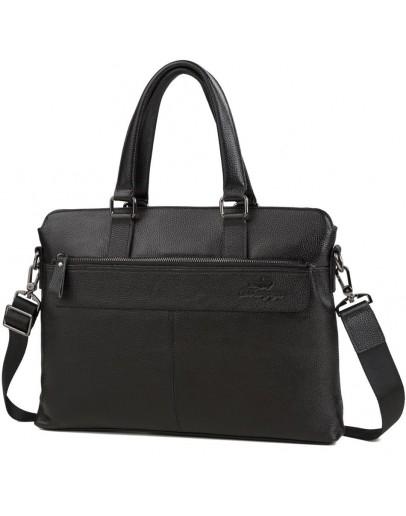 Фотография Деловая мужская черная городская сумка M38-6901-3A