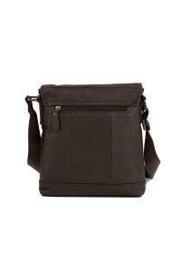 Коричневая мужская деловая сумка на плечо M38-8136C