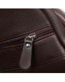 Фотография Коричневый кожаный мужской слинг - сумка на плечо M38-8151C