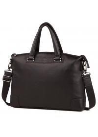 Черная мужская деловая сумка для документов M38-9160-2A