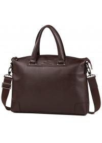 Коричневая мужская деловая сумка для документов M38-9160-2C