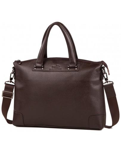 Фотография Коричневая мужская деловая сумка для документов M38-9160-2C