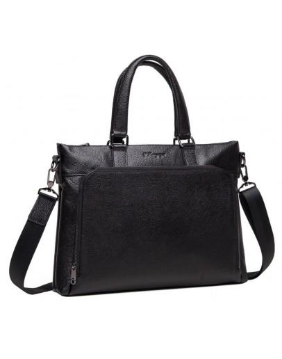 Фотография Черная мужская деловая сумка M38-9177-2A