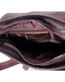 Фотография Коричневая мужская кожаная сумка, на плечо M38-9561C