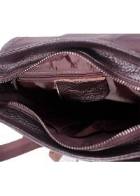 Коричневая мужская кожаная сумка, на плечо M38-9561C
