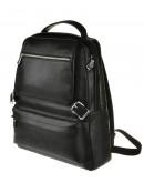 Фотография Рюкзак кожаный черного цвета мужской M423A