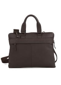 Деловая сумка для документов коричневого цвета M47-21557-2C