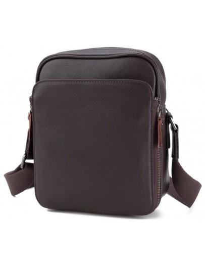Фотография Коричневая мужская сумка на плечо M47-22005-2C
