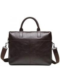 Коричневая кожаная сумка для документов M47-33041-1C
