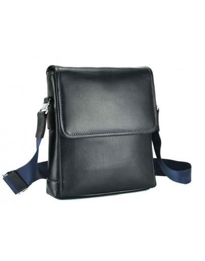 Фотография Мужская сумка на плечо синего цвета M685-1BL