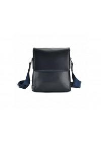 Мужская сумка на плечо синего цвета M685-1BL