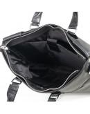 Фотография Сумка черная мужская кожаная для ноутбука M6970-3A