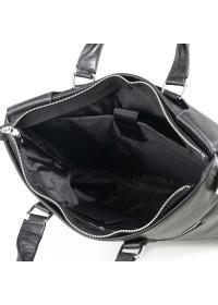 Сумка черная мужская кожаная для ноутбука M6970-3A
