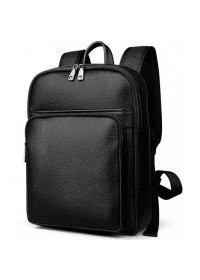 Кожаный рюкзак мужской черного цвета M7039A