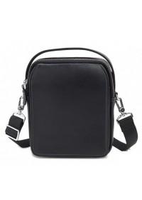 Черная сумка на плечо, мужская с ручкой M711-3A