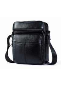 Черная небольшая сумка на плечо, мужская M7602A