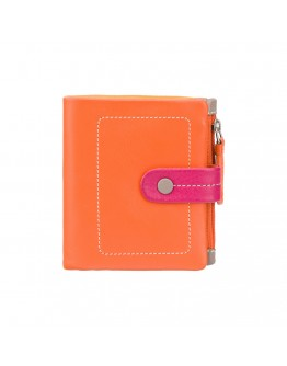 Женский оранжевый кошелек Visconti M77 Mojito (Orange Multi)